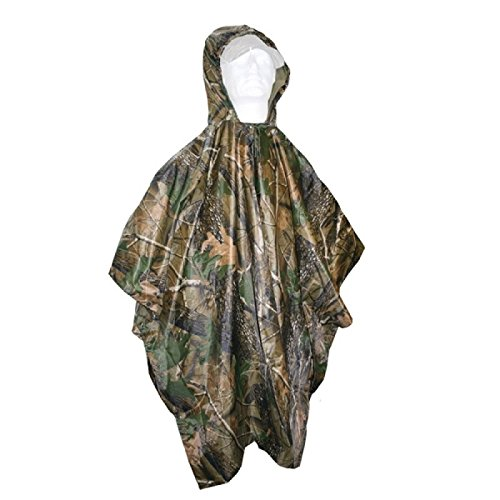 Regenponcho Camo ONE SIZE Jagd Angeln Outdoor Survival