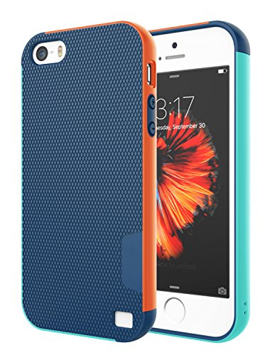 Jeylly iPhone 5S Case, iPhone SE Case, iPhone 5 Case, [3 Color] Slim Hybrid...