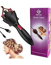 Trenzado de cabello Braider herramienta rodillo con Magic Hair Twist Styling Styler Bun Maker no incluye bateria