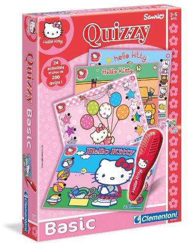 Clementoni - 62570 - Jeu éducatif électronique - Quizzy Hello Kitty