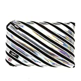 ZIPIT Astuccio porta matite metallizzato, colore: argento...