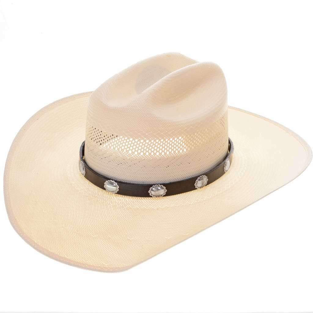 Silver Max 72% OFF Concho Navajo Hat Max 56% OFF 0120 Band Adjustable Leather
