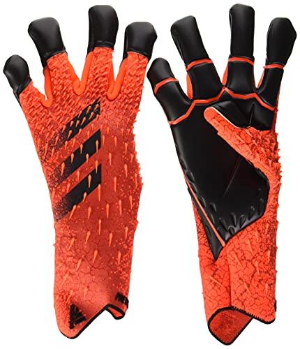 adidas Predator Hybrid Pro Goalkeeper Gloves (W/O Fingersave) (unisex-adult) Solar Red/Red/Black 9 is $91.5 (30% off)