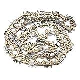 Tronçonneuse, chaîne de scie à dents de butée inclinable, plus résistante à l'usure pour le bûcheron
