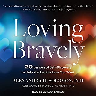 Loving Bravely audiobook cover art