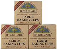 If You Care Unbleached Large Baking Cups, 60 ct, 3 pk by If You Care