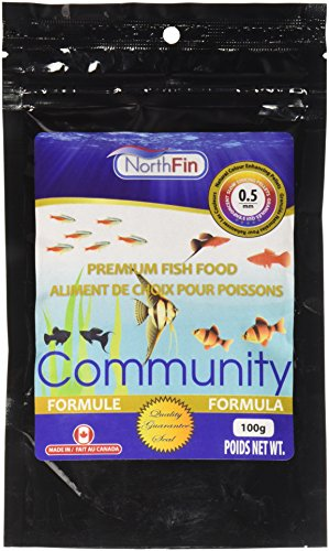 Northfin Food Community Formula 0.5Mm Pellet 100 Gram Package