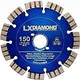 LXDIAMOND Disco diamantato da 150 mm, per calcestruzzo, muratura, universale, adatto per fresatrice per finestre Bepo FFS 150 151