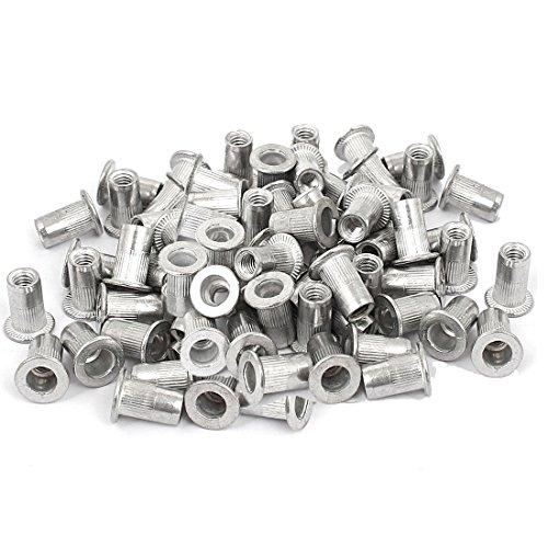 Veda 25piezas de M4roscado remache de aluminio tuerca Insertar Nutsert 4