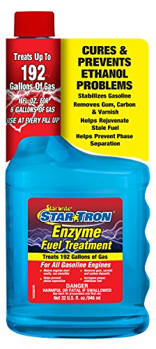 Star brite 14332 Star Tron Enzyme Fuel Treatment - Classic Gas Formula 143-32 Oz. Treats 192 Gallon,