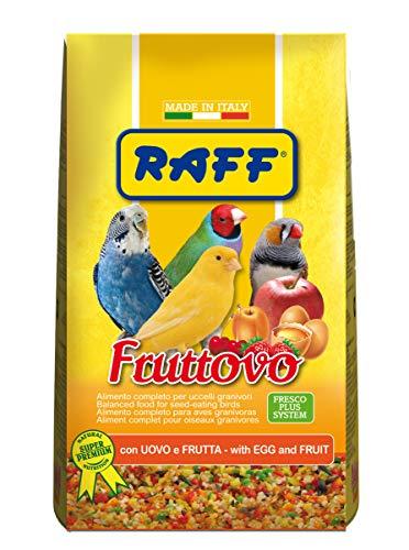 RAFF FRUTTOVO 400 GR - con Uovo E Frutta per Uccelli GRANIVORI