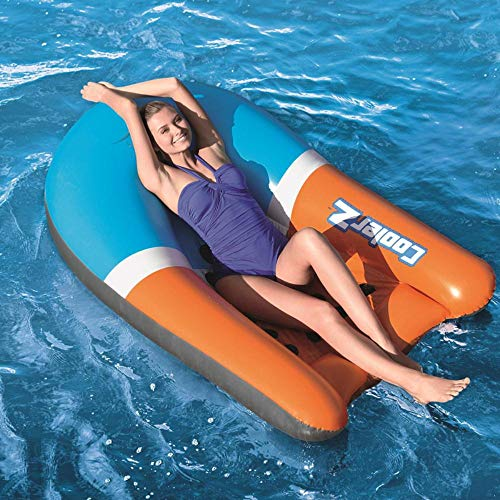 BBY aufblasbare   Pool Float Schwimmmatratze Wasserbett Rückenlehne Floating Raft   Pool Beach Toy Surfing Boat