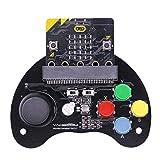 Fltaheroo Para : Bit Robot Manija De Control Joystick De Juego Vástago Educación Gráfico Asa Programable Máquina De Juegos Juguete (Sin : Bit)
