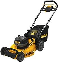 DeWALT DCMW220X2 20V MAX 2 x 20 Inch 3 in 1 Cordless Lawn Mower