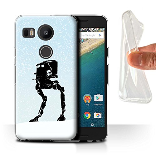 Stuff4® Gel TPU Hülle/Case für LG Nexus 5X / at-ST Inspiriert Muster/Imperium Galaxie Kriege Kollektion