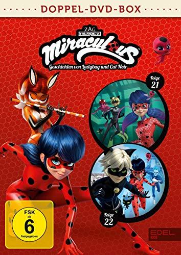 Miraculous - Geschichten von Ladybug und Cat Noir - Doppel-DVD-Box (Folgen 21 + 22)