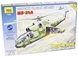 1/72 Mil Mi-24A Hind Helicopter Gunship by ZVEZDA