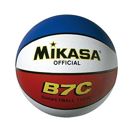 MIKASA B-7C Balón de Goma, Hombre, Multicolor, 7