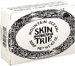 Mountain Ocean Skin Trip Soap, Coconut , 4.5-Ounces (Pack of 4)