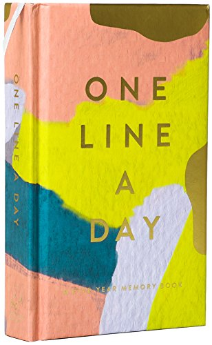Modern One Line a Day: A Five-Year Memory Book (Daily Journal, Mindfulness Journal, Memory Books,...