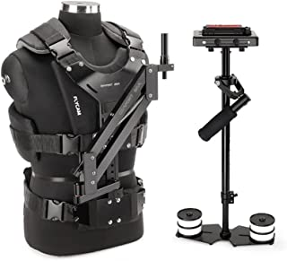 FLYCAM 5000 Video Camera Handheld Stabilizer with Comfort Arm Vest Quick Release, Arm Brace | Body Mounted Stabilization S...