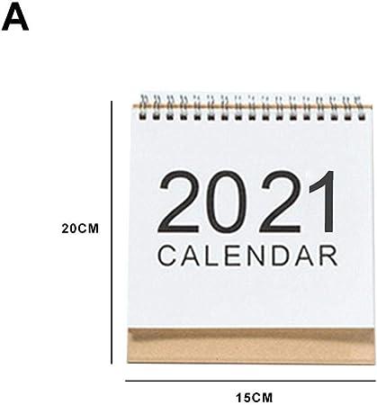 Calendario da Tavolo 2020 2021, Nuovo Desktop da scrivania