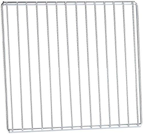 Rosenstein & Söhne Parrilla de horno: Bandeja universal para horno, extensible de 35 a 61 cm, 32 cm de profundidad (Rejilla)