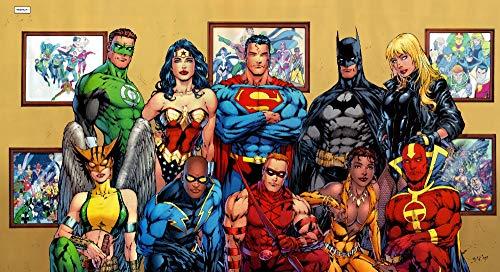 Puzzle 1000 Piezas Nuevo diseño de Dibujos Animados héroe de la Justicia. Puzzle 1000 Piezas Adultos Rompecabezas de Juguete de descompresión intelectual50x75cm(20x30inch)