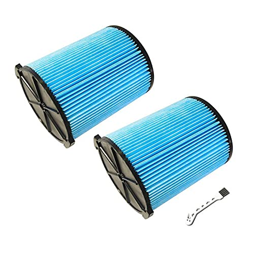 Camisin Replacement Filter for Rigid VF5000 Vac 5-20 Gallon 3-Layer Pleated Paper Vacuum Filter for WD1450 WD1270 WD09700,Etc
