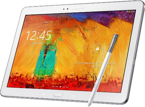 Samsung Galaxy Note 10.1 p605 2014 Edition Tablet (25,7 cm (10,1 Zoll) Touchscreen, 3GB RAM, 8 Megapixel Kamera, 16 GB interner Speicher, LTE, Android 4.3) weiß