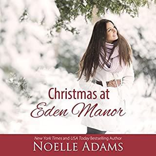 Christmas at Eden Manor audiobook cover art