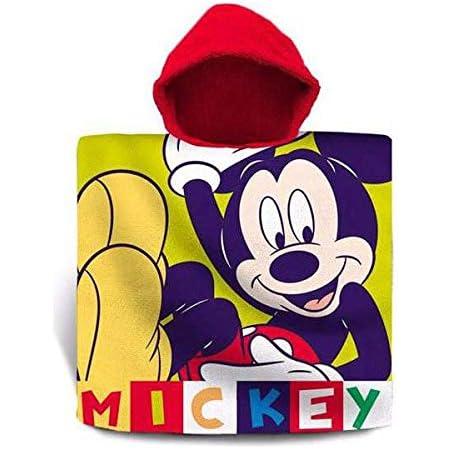 PONCHO ACCAPPATOIO MICKEY TOPOLINO MICROSPUGNA  55X110 CM PISCINA MARE