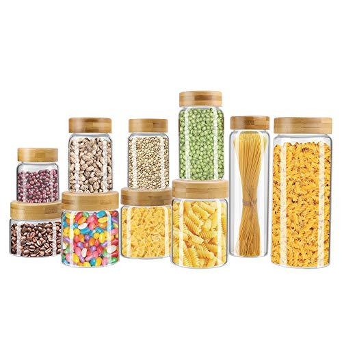 glass kitchen jars - 8