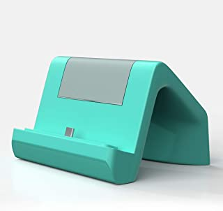 KIWI design Nintendo Switch Lite/Nintendo Switch 用充電スタンド 充電器 卓上ホルダー ライトグリーン