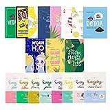 Best Korean Sheet Masks - FaceTory 19 Facial Sheet Mask Collection- Hydrating, Moisturizing Review