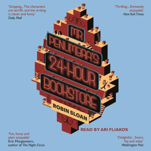Mr. Penumbra's 24-Hour Bookstore audiobook cover art