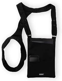 """Shoulder Holster Tablet Sleeve Bag by Tabocket for iPad Air 2, iPad Air, iPad 4, iPad 3, iPad 2 and fits 9.7"""" iPad, 10.5"""" iPad Pro, 10"""
