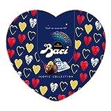 Baci Perugina Classico Cioccolatini Fondenti Ripieni al Gianduia e Nocciola Intera Scatola Cuore in Latta - 100 Gr