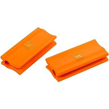 Compra BRA Salvamanteles, Silicona, Naranja, 2 Unidades en