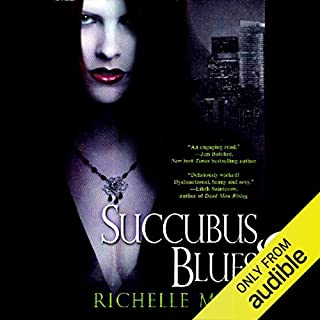 Succubus Blues audiobook cover art