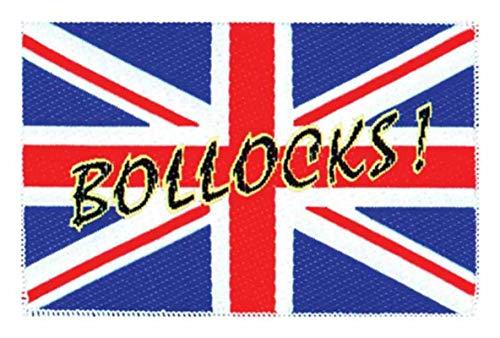 Union Jack Bollocks! Parche de 2432.