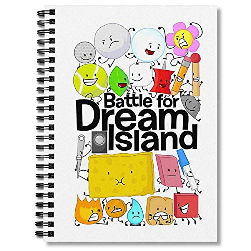 Spiral Notebook Bfdi White Composition Notebooks Journal With Premium Thick Wide Ruled Paper