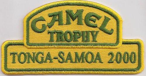 Patch Camel Trophy Tonga Samoa 2000 Dakar Racing Aufnäher Abzeichen