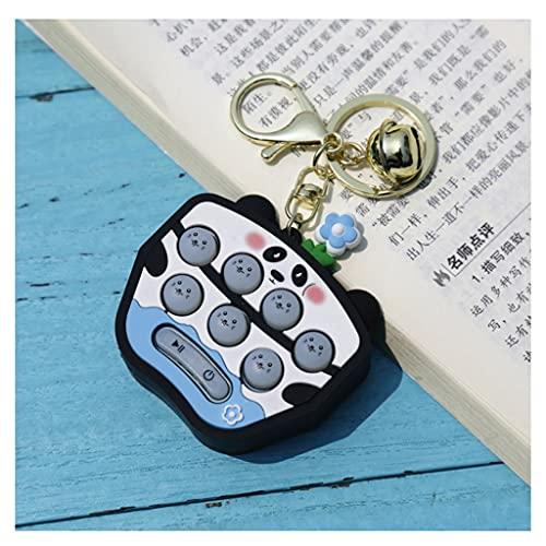 BENO Panda Mini Calculadora De Llaves Portátiles para Niños Calculadora De Funciones De Bolsillo para Niños para Niños (Tres Tipos) calculadora portatil (Color : Game Console)