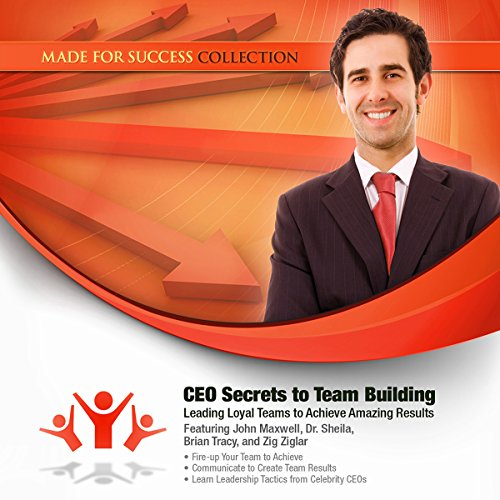 CEO Secrets to Team Building audiobook cover art