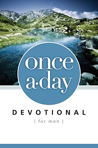 NIV, Once-A-Day Devotional for Men, Paperback