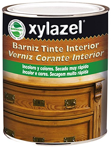 Xylazel - Barniz tinte interior brillante 375ml caoba
