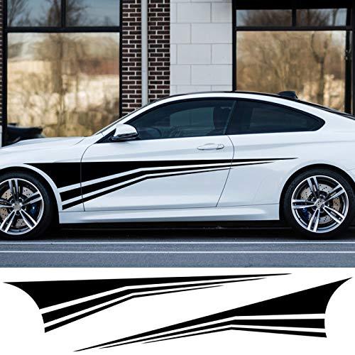 HLLebw Auto Pegatinas de Calcomanías para BMW E46 E60 E90 F10 F30 X5 E70 G30 para Alfa Romeo Stelvio