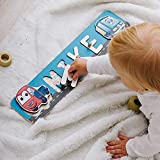 Cars Personalized Wood Name Puzzle With Pegs & Custom Design...