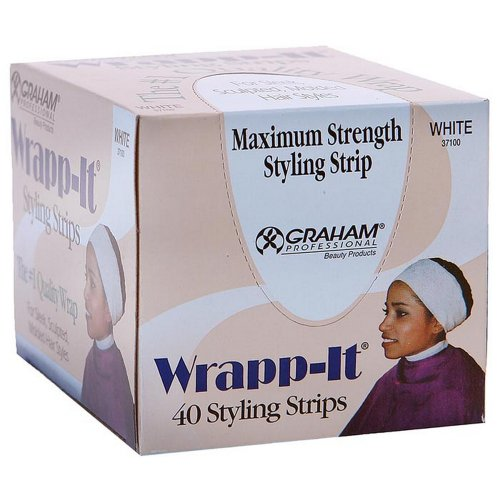 Famis Wrapp-It Styling Strip X-Wide X-Long (Box of 40) by Famis